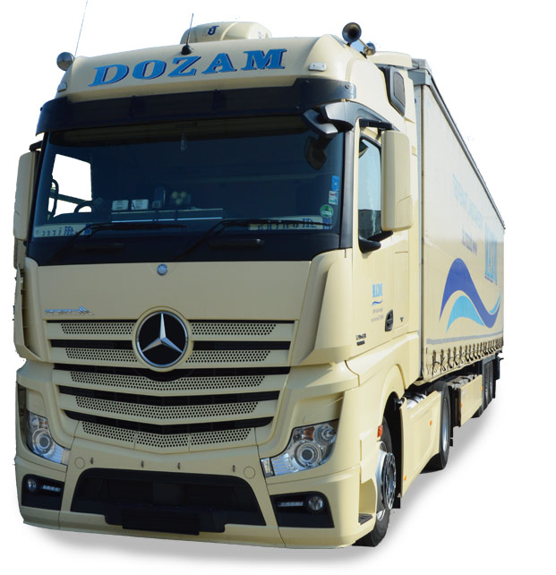 International and national truck transport